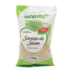 Semințe de susan decorticat 100g Sanovita