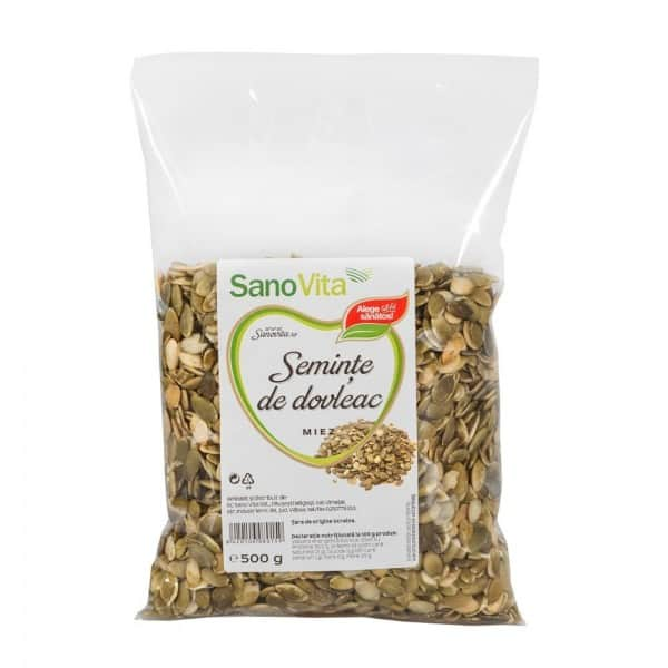 Semințe de dovleac 500g Sanovita