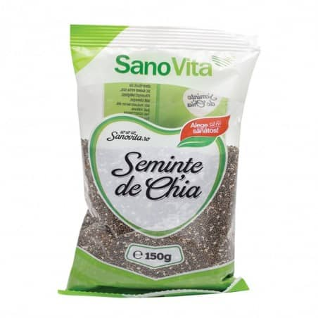 Semințe de chia 150g Sanovita