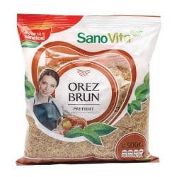 Orez brun prefiert 500g Sanovita