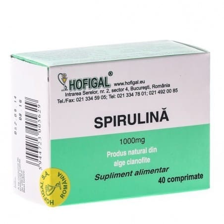 Spirulina 1000mg-40cpr HOFIGAL