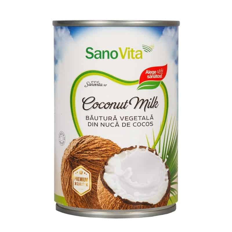 Bautura vegetala din nuca de cocos Sanovita