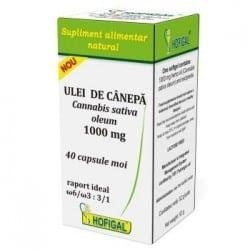 Ulei De Canepa 1000Mg 40cps Moi HOFIGAL