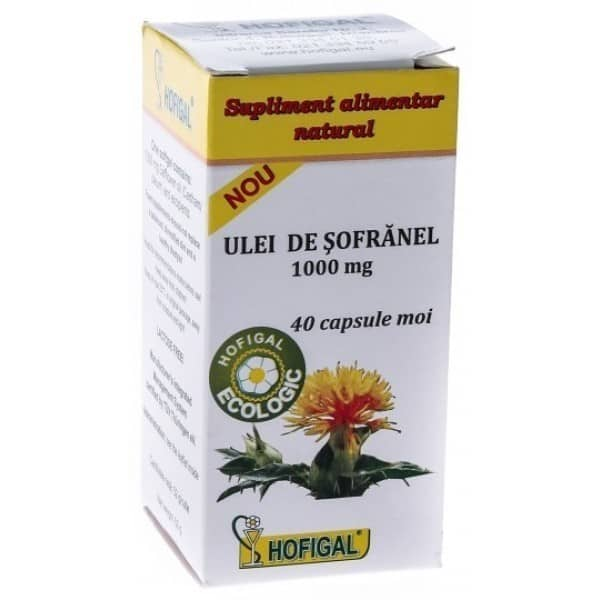 Ulei Sofranel 1000Mg 40cps Moi HOFIGAL