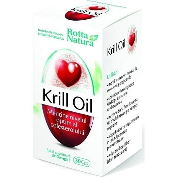 Krill Oil 500Mg 30cps ROTTA NATURA