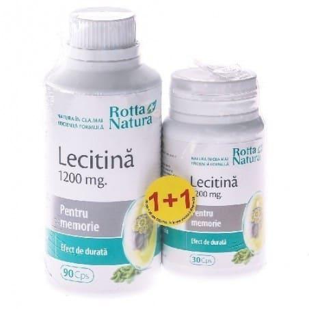Lecitina 1200Mg 90cps+30cps GRATIS ROTTA NATURA