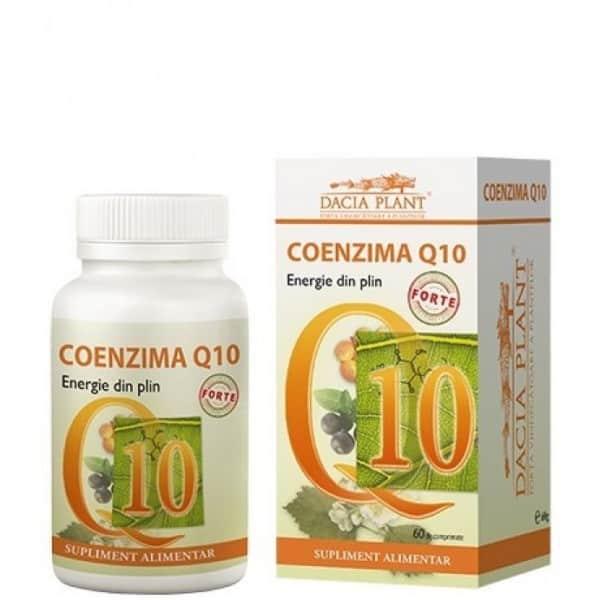 Coenzima Q10 Forte 60cpr (Nou) DACIA PLANT