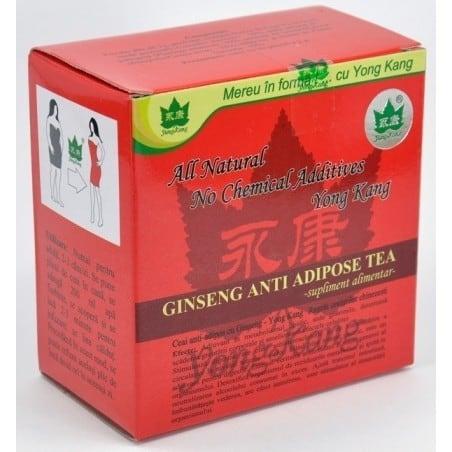 Antiadipos Rosu Cu Ginseng 30Dz YONG KANG