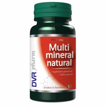 Multi mineral natural 60 cps Dvr Pharm