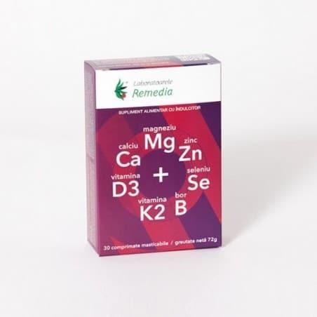 CA MG ZN D3 SE 3bls x 10cpr.masticabile LAB.REMEDIA