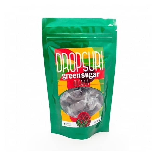 DROPSURI GREEN SUGAR CU CAFEA x 150g | LAB.REMEDIA