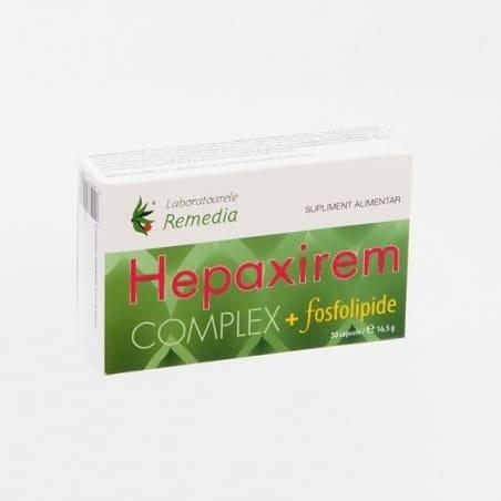 HEPAXIREM COMPLEX + FOSFOLIPIDE 3 bls x 10 cpr | LAB REMEDIA