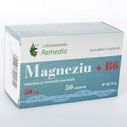 MAGNEZIU 50mg + B6 5bls x 10cps | LAB.REMEDIA
