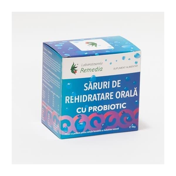SARURI REHIDRATARE ORALA+PROBIOTIC 10+10 plicuri | LAB.REMEDIA