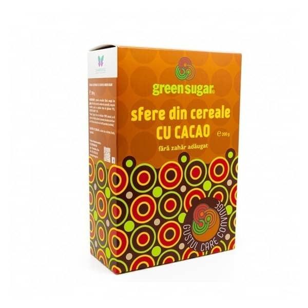 SFERE CACAO CU GREEN SUGAR 200g  I SWEETERIA LAB.REMEDIA