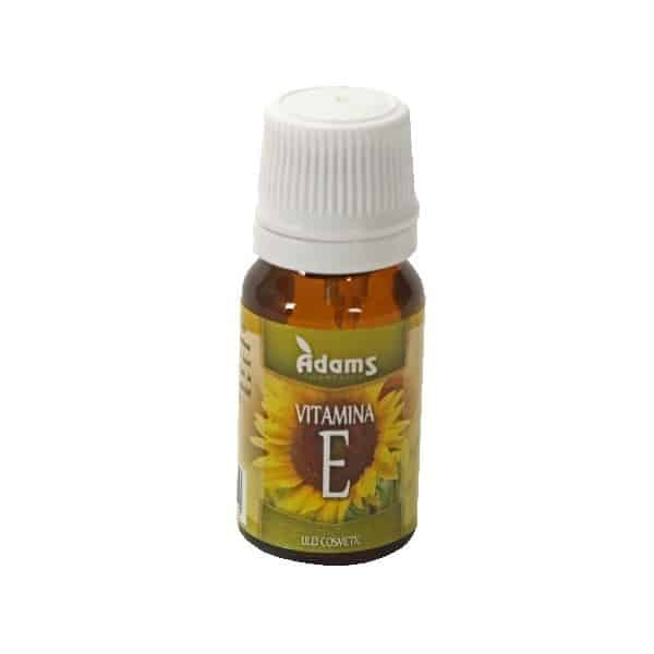Vitamina E 10ml (ulei cosmetic) Adams Vision