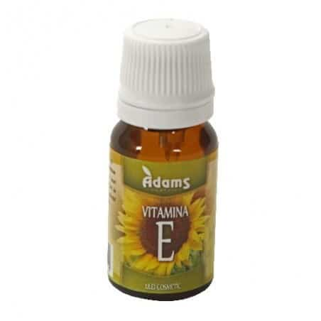 Vitamina E 10ml (ulei cosmetic) Adams Vision
