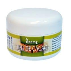 Unt de Cacao (presat la rece, conventional) 65gr. Adams Vision