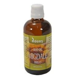 Ulei Migdale dulci 100ml (presat la rece) Adams Vision
