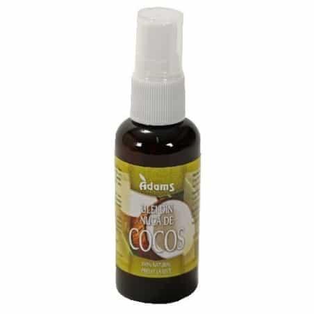 Ulei nucă de Cocos Bio 50ml (presat la rece) Adams Vision