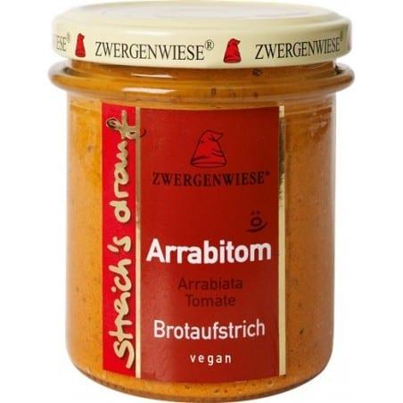 Crema Tartinabila Vegetala Arrabitom cu Arrabiata Si Tomate Fara Gluten 160g Zwergenwiese