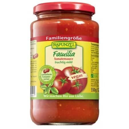 Pasta de Tomate Familia Vegan 550g Rapunzel