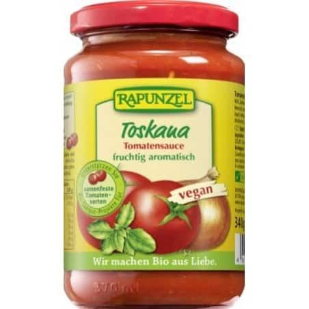 Sos de Tomate Toscana Vegan 340g Rapunzel
