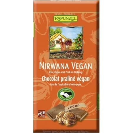 Ciocolata Nirwana Vegana 100g Rapunzel