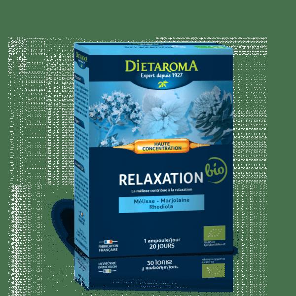 Relaxare 20 fiole x 10 ml Dietaroma