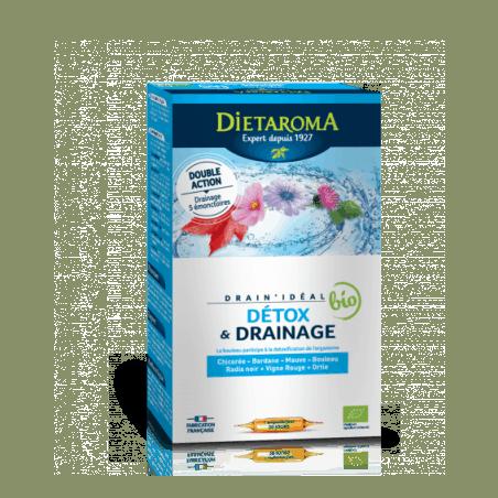 Detoxifiere si Drenaj BIO 20 fiole x 15 ml Dietaroma