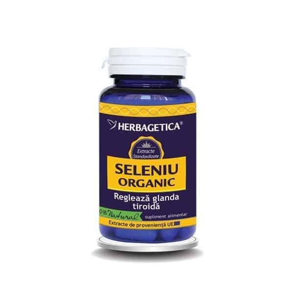 Seleniu Organic 30 cps Herbagetica