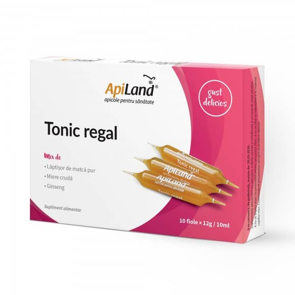Tonic regal 10 fiole BIO APILAND