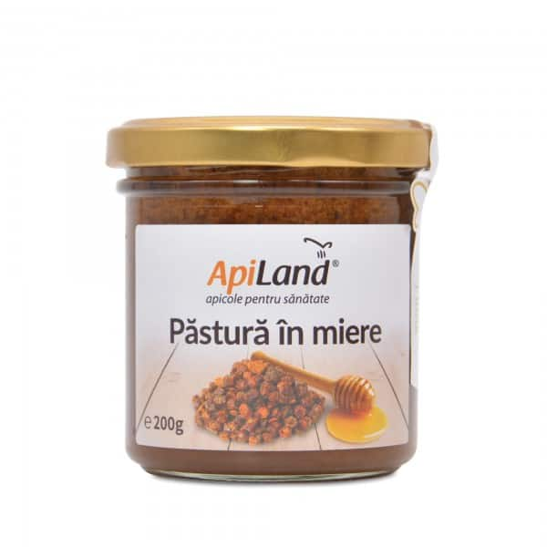 Pastura - painea albinelor in miere 200g APILAND