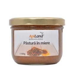Pastura - painea albinelor in miere 500g APILAND
