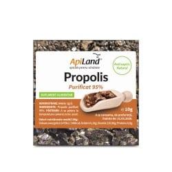 Tinctura propolis purificat 95% Propolis brut 10g APILAND