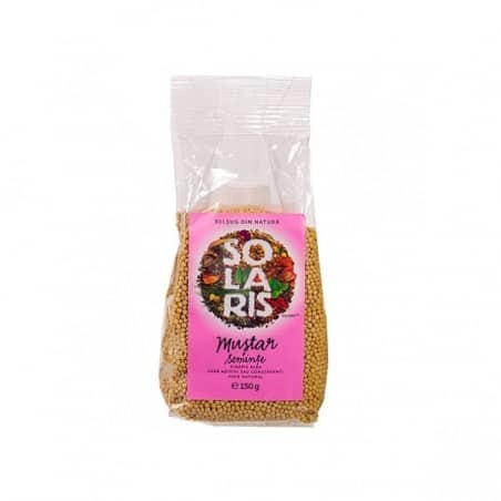 Condiment-mustar seminte 150gr SOLARIS