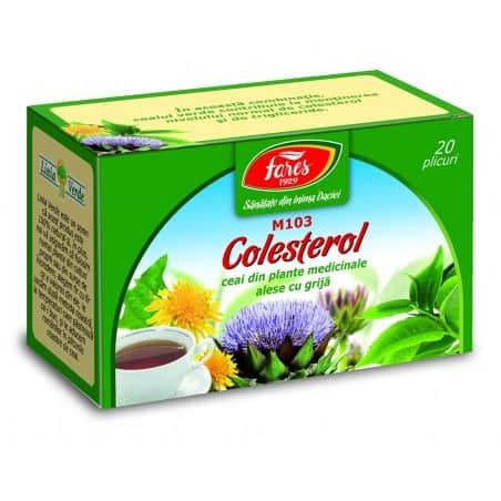 Ceai Colesterol, 20 pliculete FARES