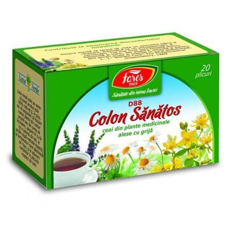 Ceai Colon Sanatos, 20 pliculete FARES