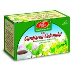 Ceai Curatarea Colonului, 20 pliculete FARES