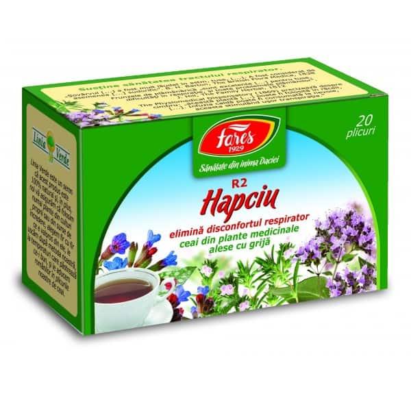 Ceai Hapciu Elimina Disconfortul Respirator , 20 pliculete FARES