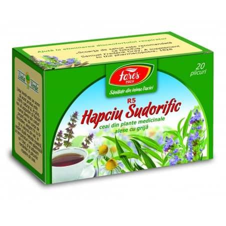 Ceai Hapciu Sudorific, 20 pliculete FARES