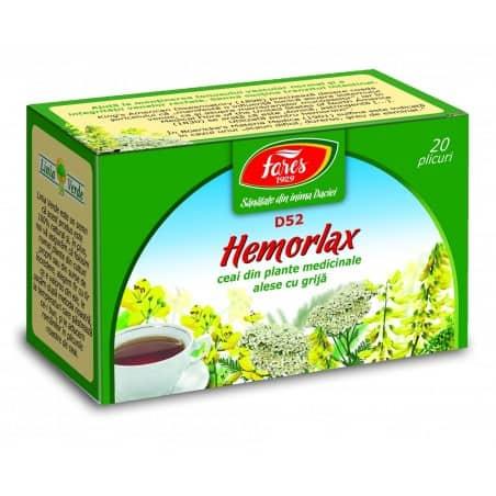 Ceai Hemorlax, 20 pliculete FARES
