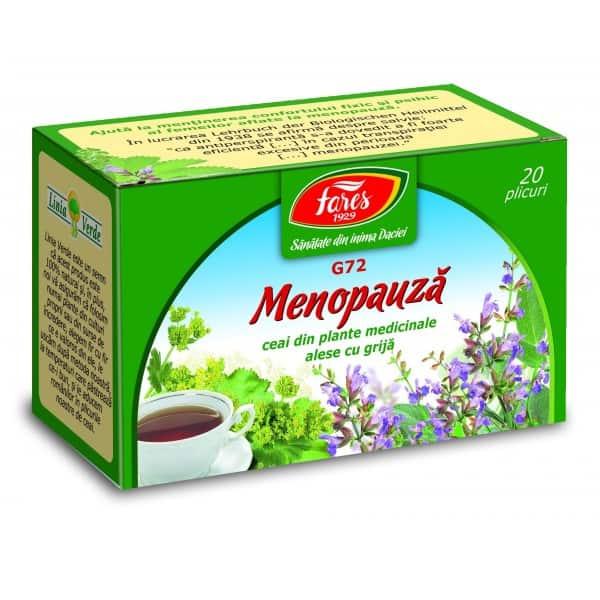 Ceai Menopauza, 20 pliculete FARES