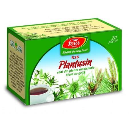 Ceai Plantusin, 20 pliculete FARES
