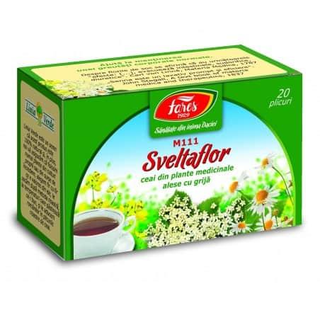 Ceai Sveltaflor, 20 pliculete FARES