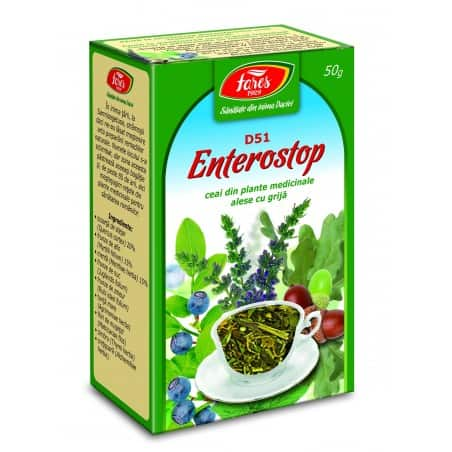 Ceai Enterostop, punga a 50 g FARES