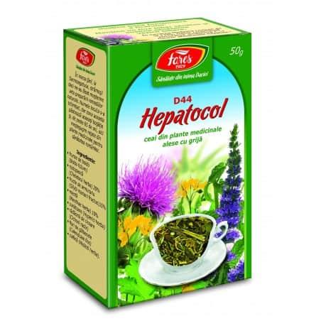 Ceai Hepatocol, punga a 50 gr FARES