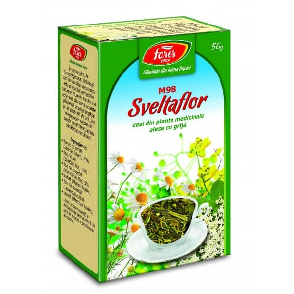 Ceai Sveltaflor, punga a 50 gr FARES