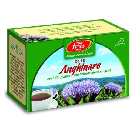 Ceai Anghinare, 20 pliculete FARES