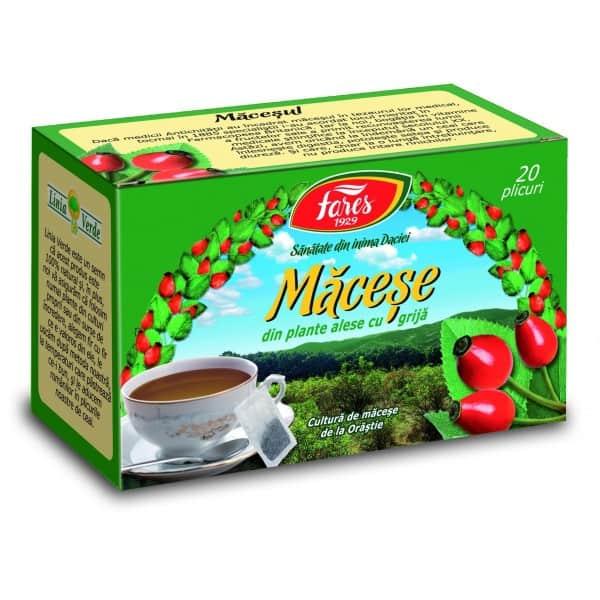 Ceai Macese, 20 pliculete FARES